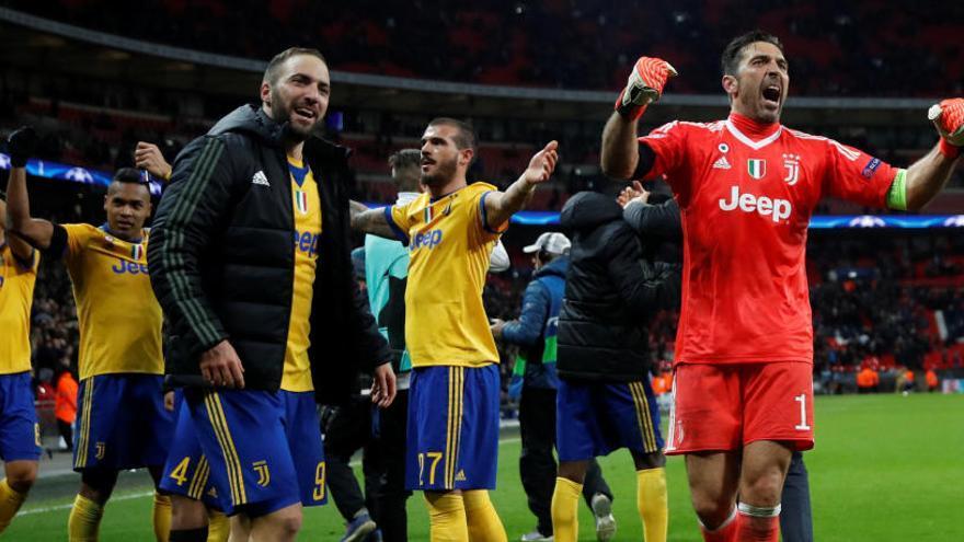 La Juventus, a cuartos tras remontar al Tottenham