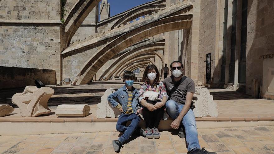 Casi 4.000 personas reservan plaza para visitar las terrazas de la Catedral de Mallorca