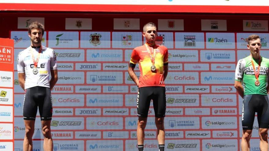 Miguel Ángel Ballesteros, bronce en el Campeonato de España Elite