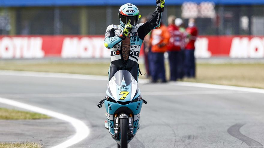 Foggia, ganador de Moto3 2021 en el circuito de Assen