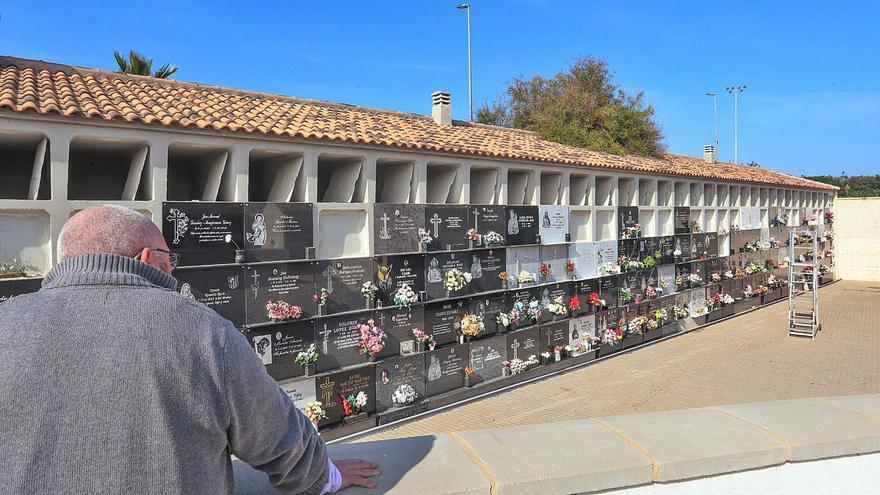 Torrevieja habilita a contrarreloj nuevos nichos en su cementerio