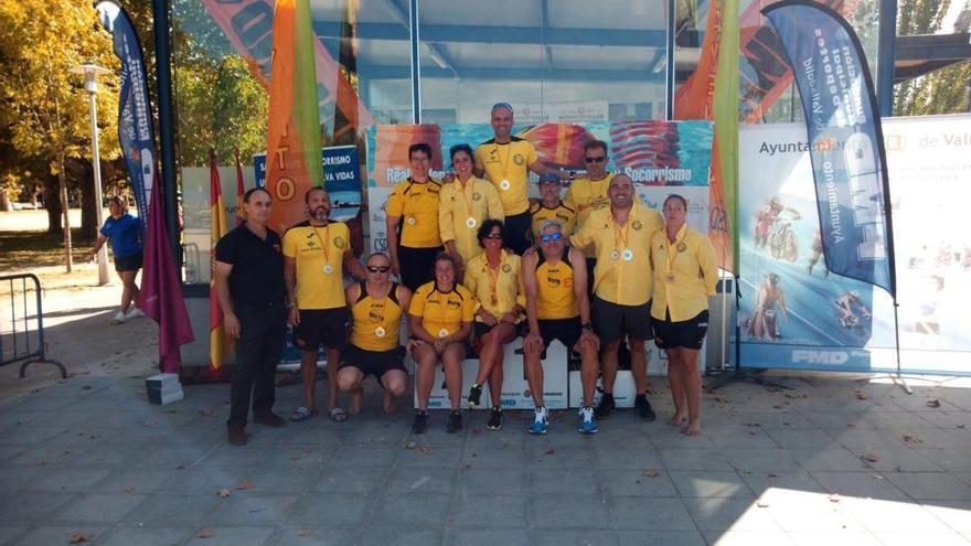 Dragones Caja Rural revalida su título de campeón master de larga distancia