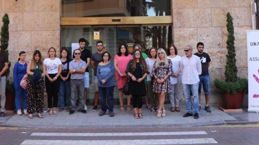 Sagunt condena el último asesinato machista en Málaga