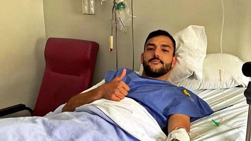 Zamora CF | Vallejo pasa por el quirófano