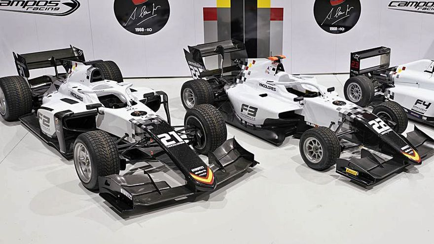 Campos Racing muda de piel para la presente temporada