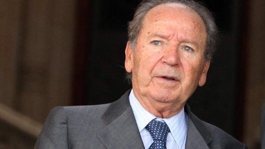 Mor l'empresari i expresident del FC Barcelona Josep Lluís Núñez als 87 anys