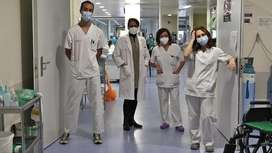 """El equipo que atendió el primer caso en Vigo: """"El miedo era atroz"""""""