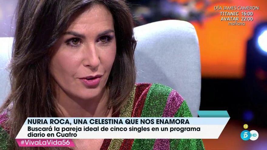 """Nuria Roca aclara su """"relación abierta"""" con su marido Juan del Val"""