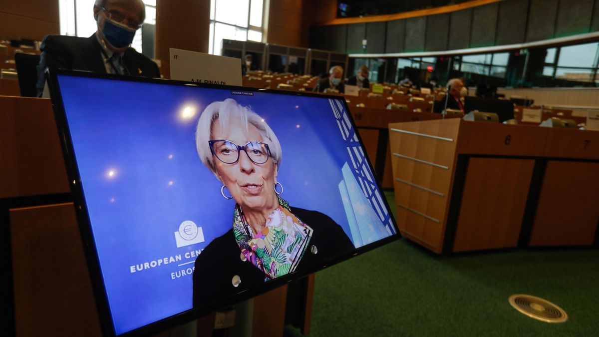 Una imagen de Christine Lagarde