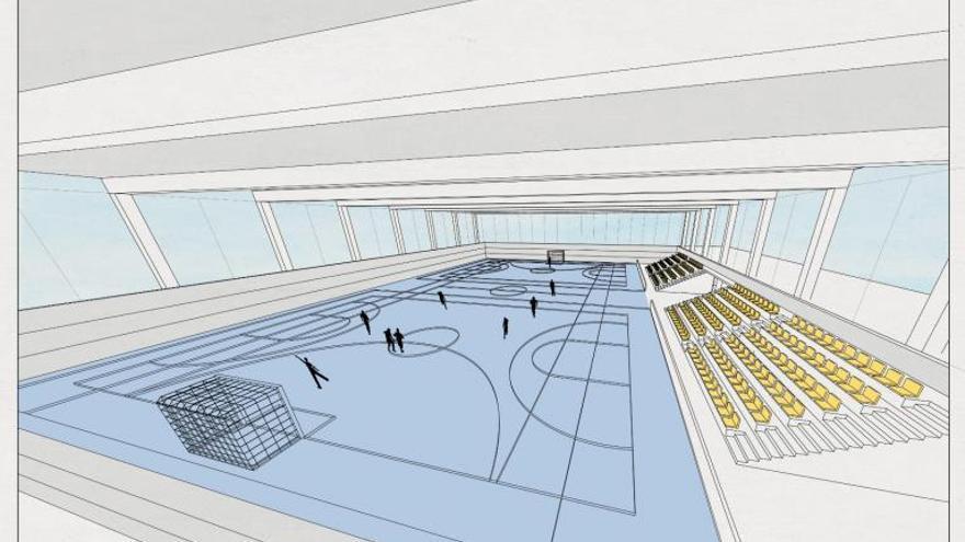 El pabellón deportivo de Chiva echa a andar