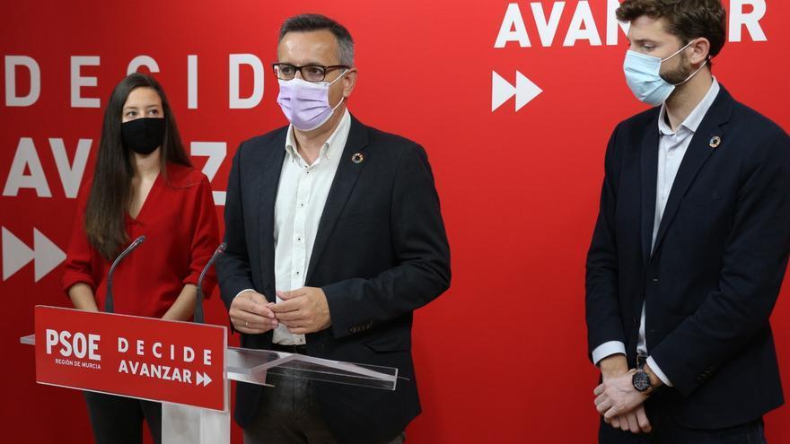 El PSOE exige a López Miras más inversión para proteger a la infancia