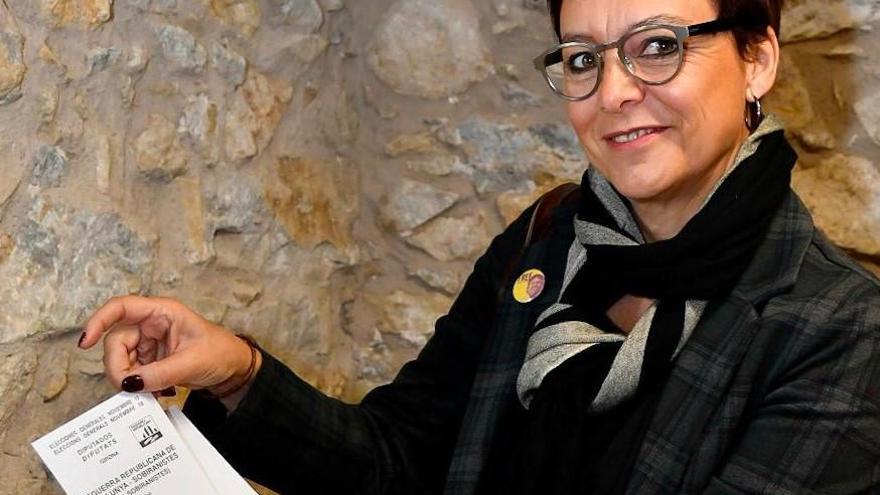 Montse Bassa: «Mirarem els nostres carcellers als ulls i defensarem l'amnistia»