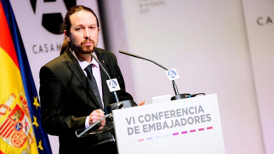 Iglesias rechaza que sus palabras sobre Puigdemont ofendan a la memoria de los republicanos