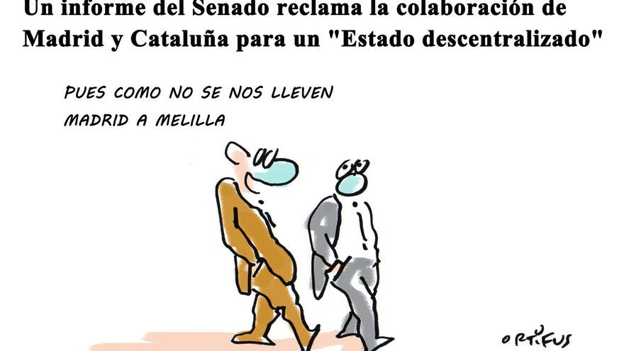 """Un informe del Senado reclama la colaboración de Madrid y Cataluña para un """"Estado descentralizado"""""""
