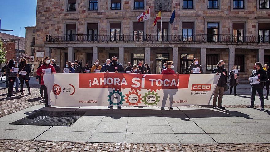 Los sindicatos de Zamora reclaman que el Gobierno pase de las palabras a los hechos