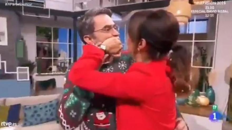 Los nervios de Silvia Jato cuando Máximo Huerta le pregunta por Pasapalabra