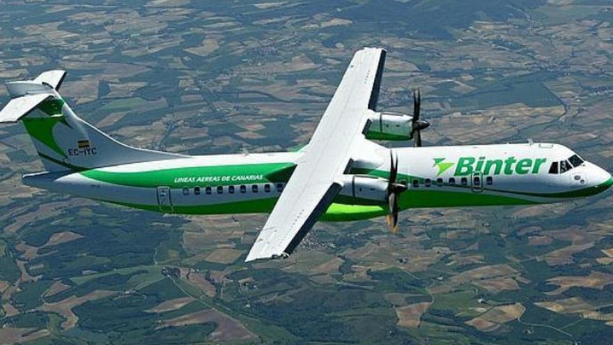 Bintazo para volar a la península y al extranjero desde 33,75 euros