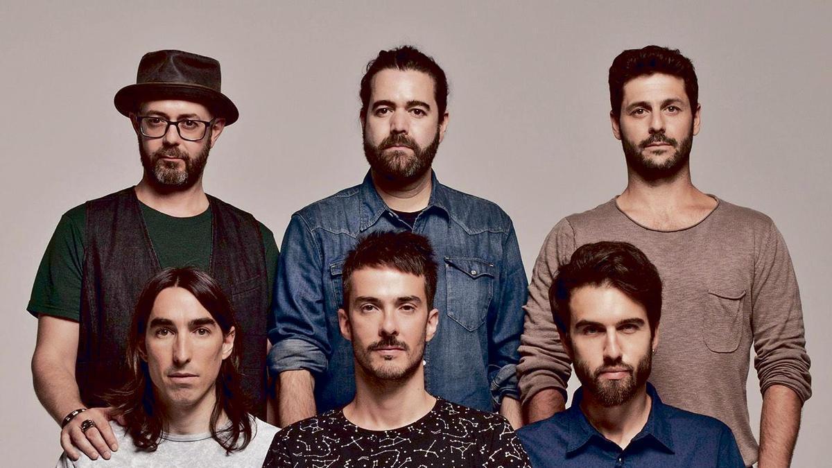 El grup madrileny Vetusta Morla.