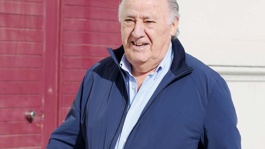 Amancio Ortega es un 40% más rico que hace un año, pero cae del puesto 6 al 11 de la lista 'Forbes'