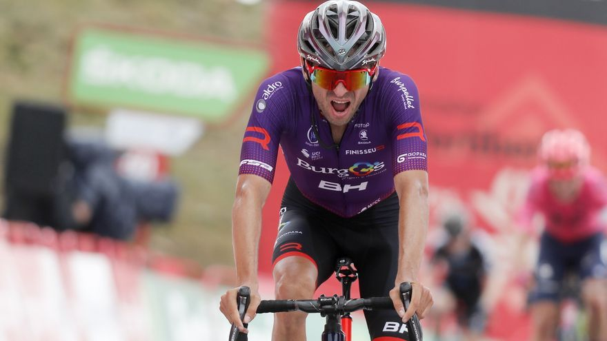 El ondense Óscar Cabedo analiza su 19º puesto en la Vuelta a España