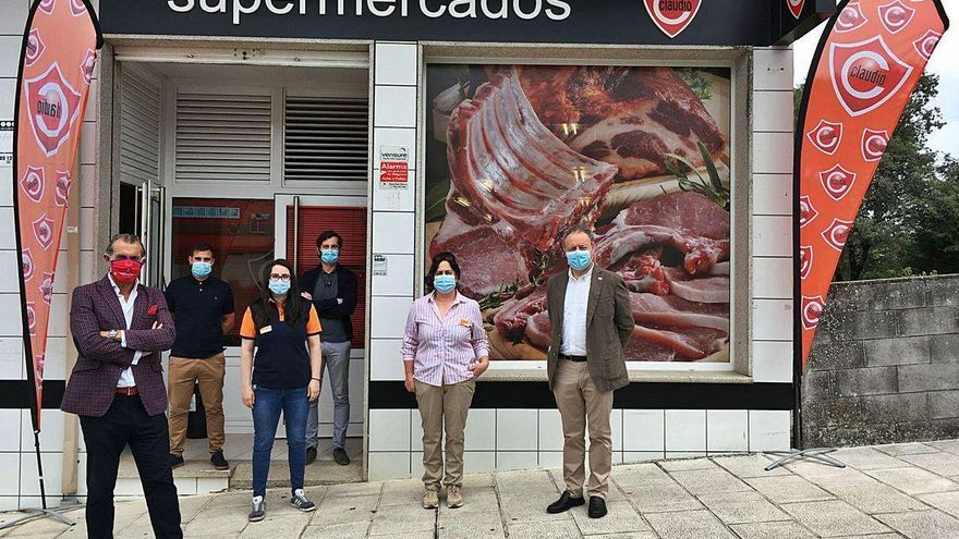 Gadisa inaugura en Rodeiro su sexto Claudio franquiciado de este semestre