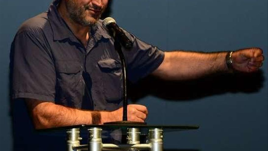 Salvador del Río, actor e director, procedente de Aurín
