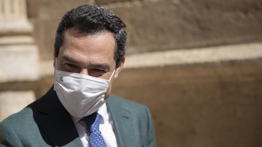 Moreno asegura que Andalucía podría lograr la inmunidad colectiva a principios de julio