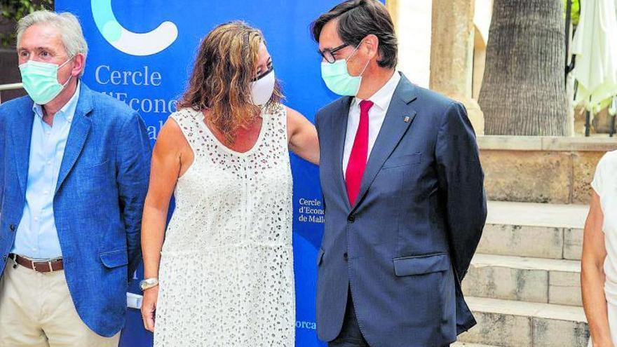 Illa elogia el modelo federalista de Balears frente a «la visión cerrada» de otros territorios