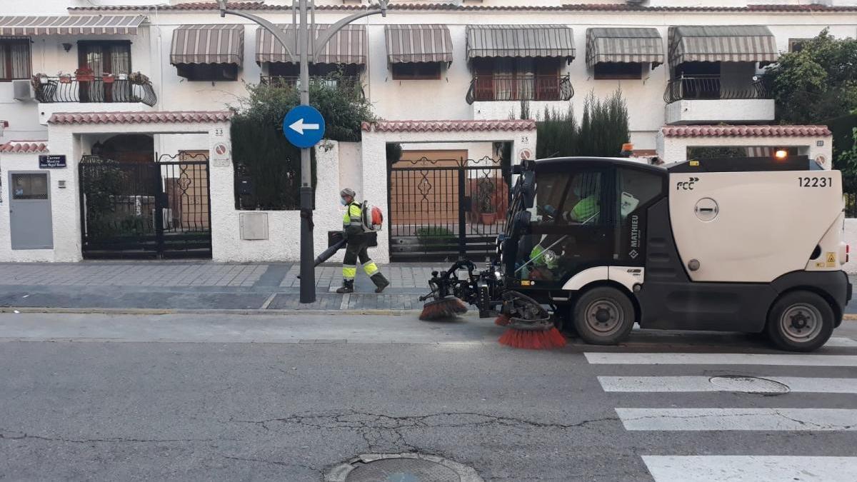Limpieza en Paterna.