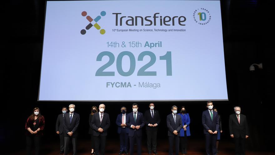 Fotos de la inauguración del Foro Transfiere en el Palacio de Ferias