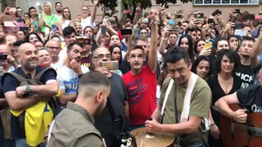Homenaje a Juan Carlos Aragón en Córdoba