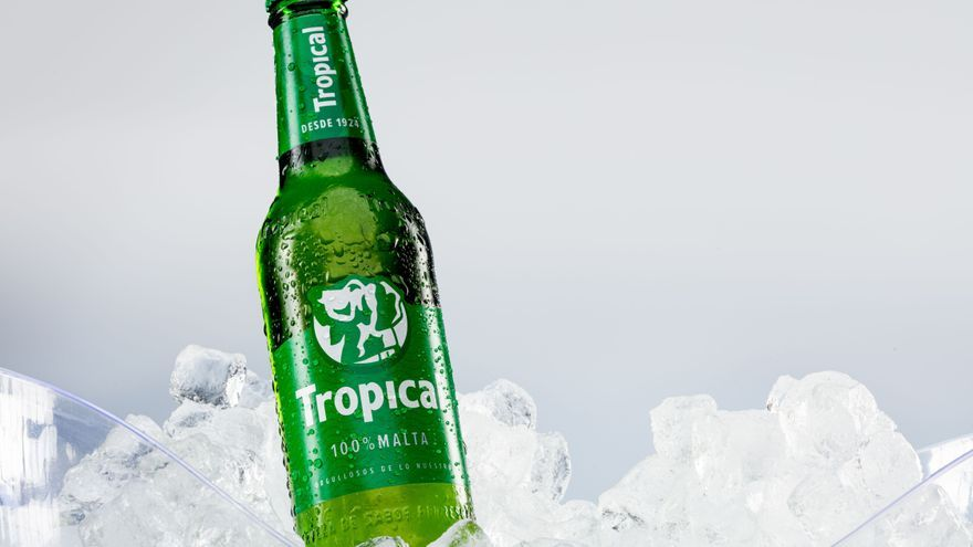 Nueva imagen de la cerveza Tropical