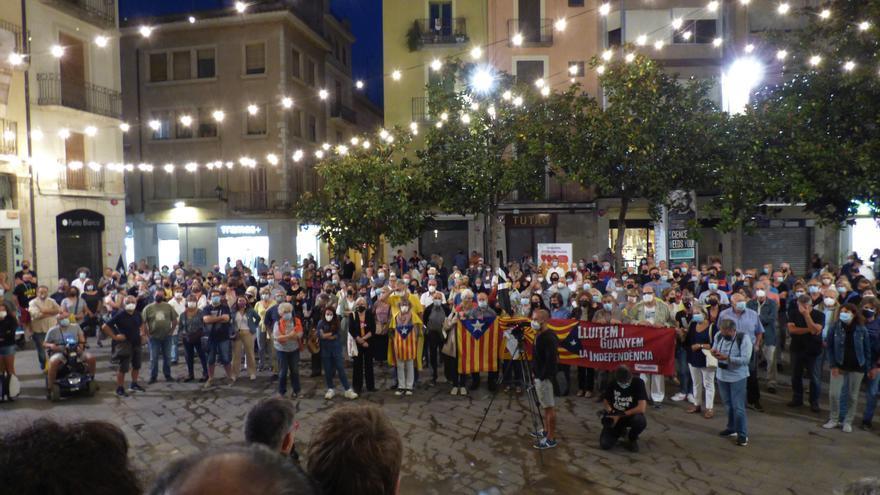 Concentracions arreu de la comarca en suport a Carles Puigdemont