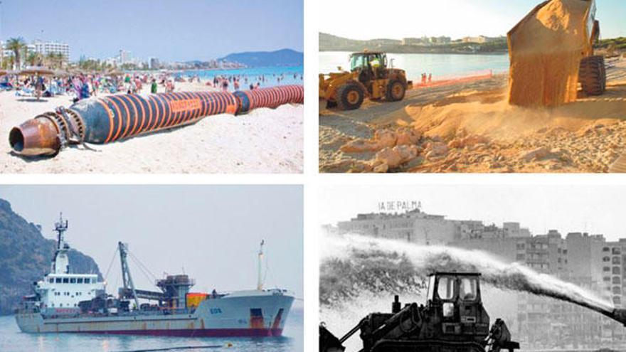 Sand für die Mallorca-Strände von nah und fern