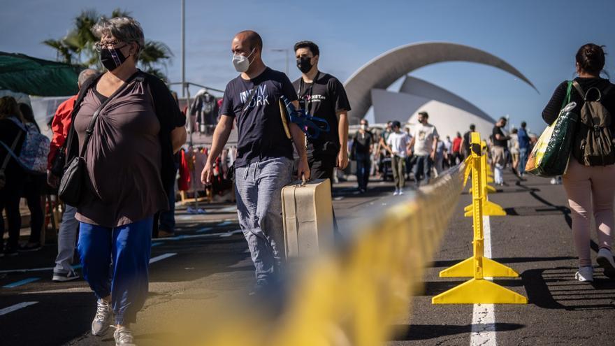 Canarias registra el primer día sin fallecimientos de la última quincena