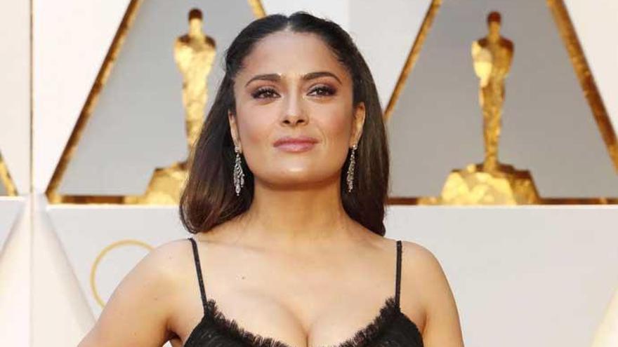 Alegato de Salma Hayek contra Hollywood y los Oscars