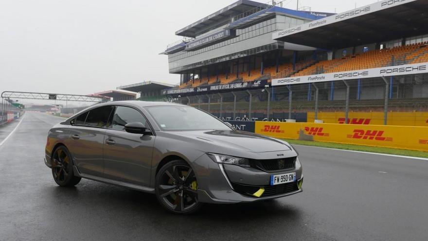 Peugeot 508 PSE: Primera prueba en... ¡Le Mans!