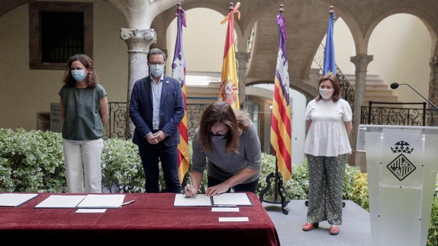 Abierto el plazo para solicitar los primeros 7,5 millones de ayudas directas por parte de las empresas de Palma