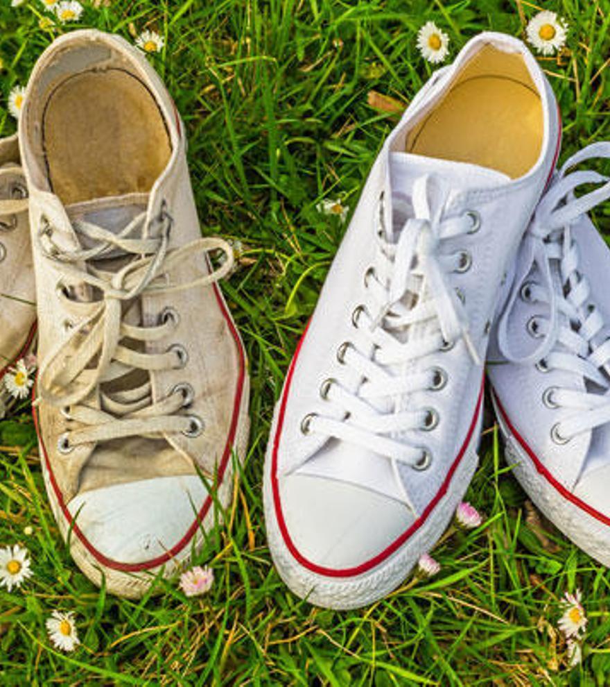 Tres trucos caseros para limpiar las zapatillas blancas y dejarlas como nuevas