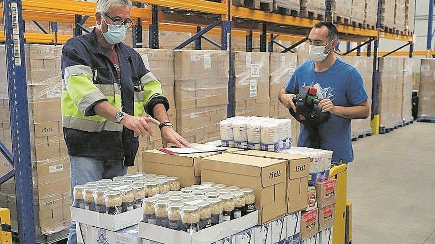 Paco Montalvo y Paco Morales colaboran con el Banco de Alimentos de Córdoba