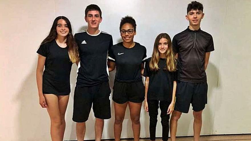 Cinco deportistas de Balears preparan el Europeo en Murcia