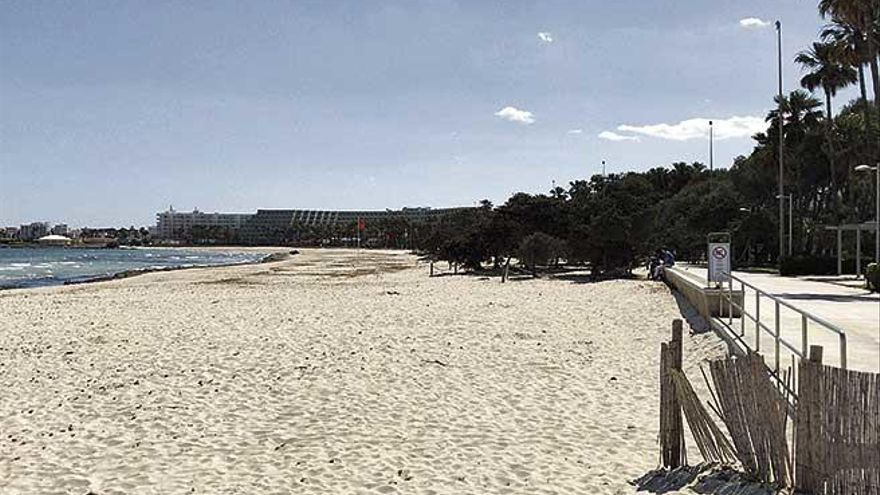 Sant Llorenç asumirá la gestión de la playa si queda sin concesionaria