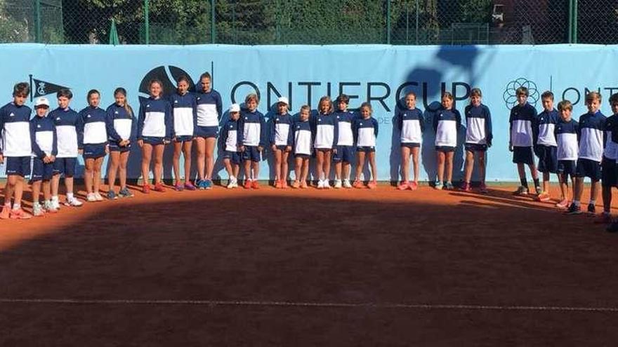 Los tenistas del futuro sacan músculo en la Ontier Cup