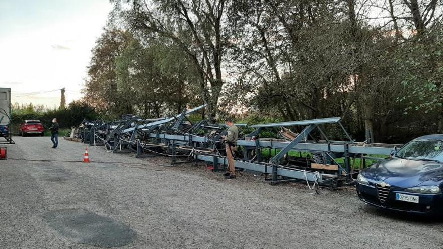 ¿Cómo va a haber sitio para aparcar en O Gatañal?