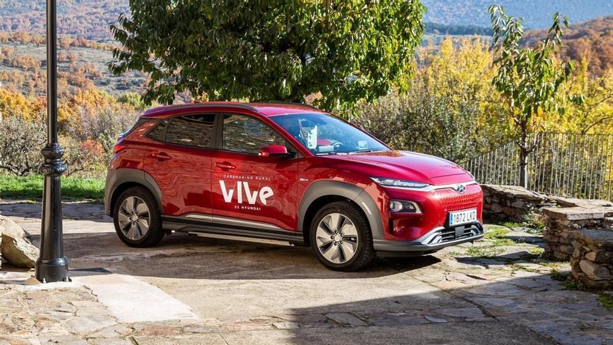 VIVe, el carsharing sostenible de Hyundai para las zonas rurales de España