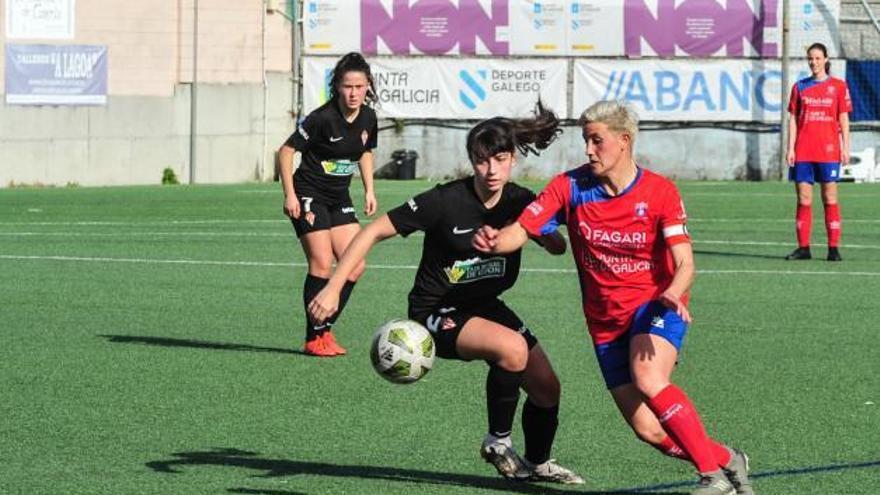 El Umia se lleva un duelo muy físico en Asturias