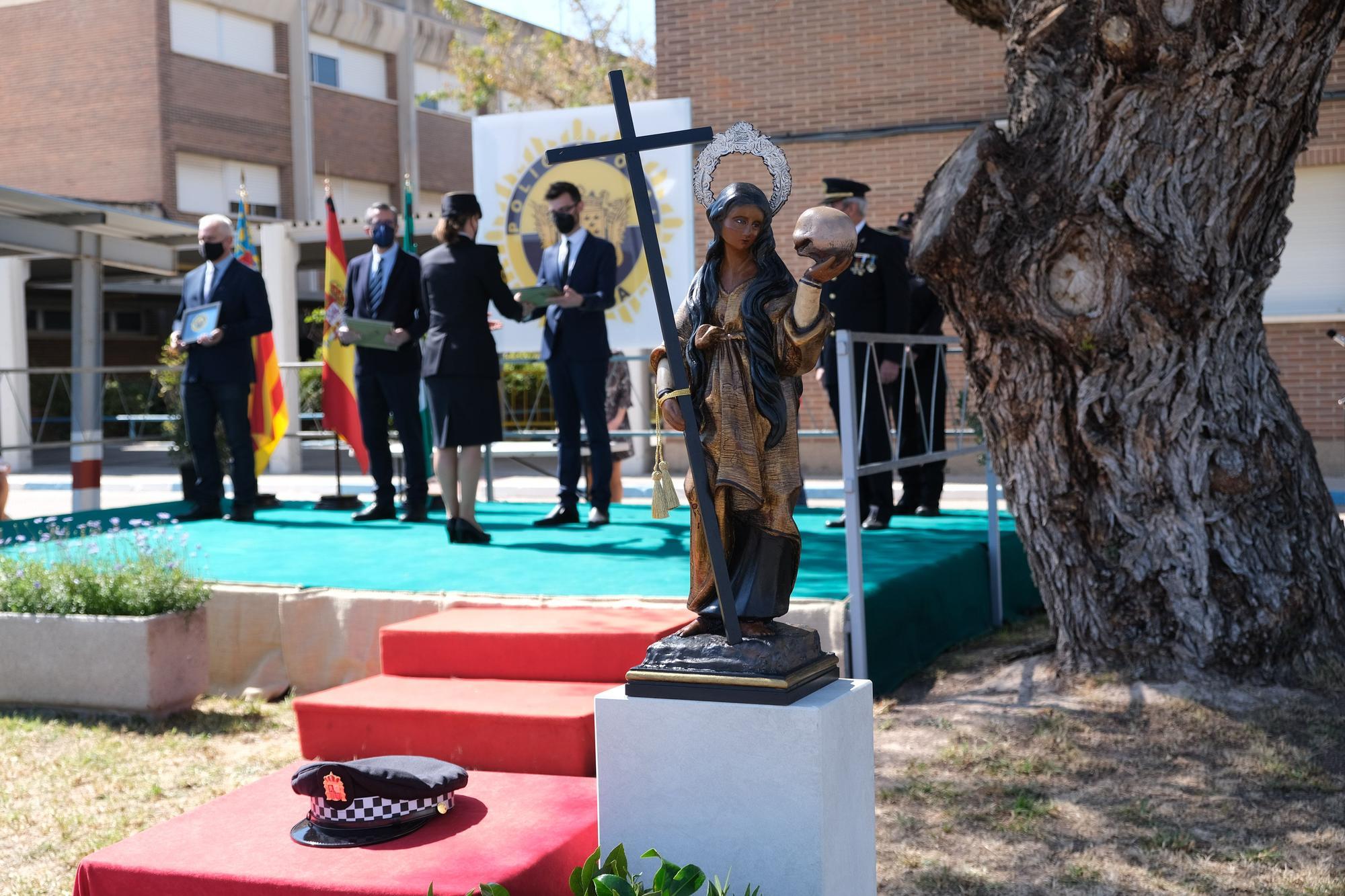 Novelda celebra el Día de la Policía Local en el 160 aniversario de su creación