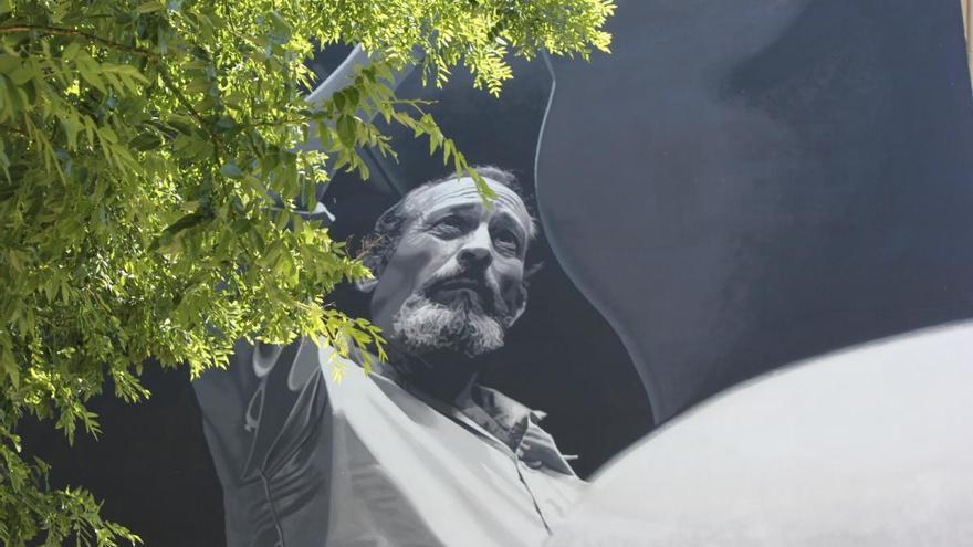 La Zamora de los murales a pie de calle