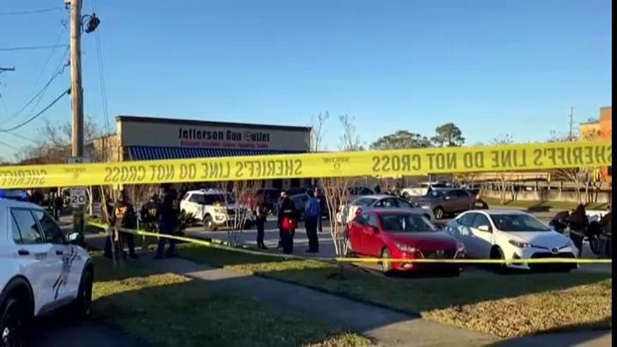Tres muertos en un tiroteo en Nueva Orleans