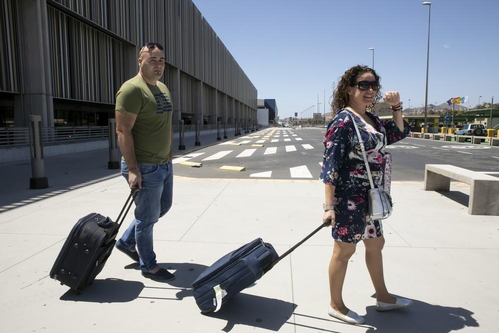 Operación salida de agosto en el aeropuerto de Gran Canaria